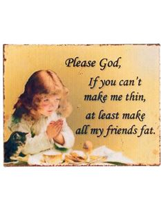 Retro Vintage Style Fat Friends Fridge Magnet