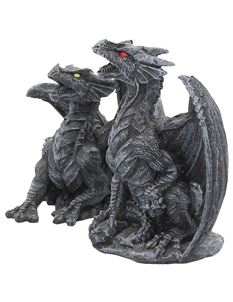 Nemesis Now Dark Fury Dragon Figurines Ornament