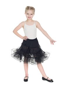 H&R London Kids Petticoat In Black