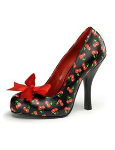 Pleaser Cutiepie 06 Pin Up Cherries Shoes