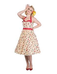 Dancing Days New Romantics 50s Style Rockabilly Dress