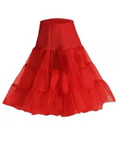 "Foxy Roxy Retro 26"" 50's net petticoat Various Colours"