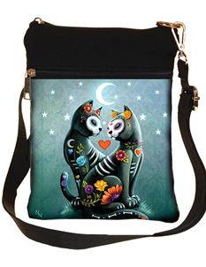 Nemesis Now Starry Night Cat Shoulder Bag
