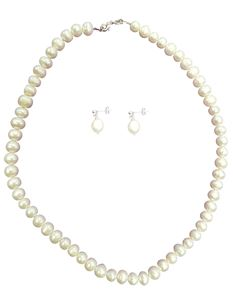 Hand Made Real Freshwater Pearl Necklace