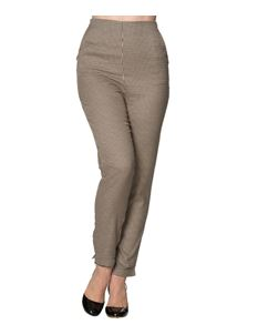Banned 50s Retro's Swept off Her Feet Slim-Leg Trouser