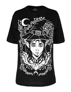 Restyle Elf Witch Oversized T-Shirt Alternative Tee Top