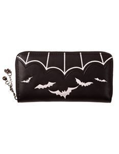 Banned Salem Bat Alternative Faux Leather Wallet Purse