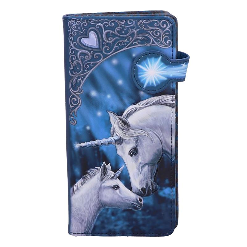 Lisa Parker Sacred Love Unicorn Embossed Purse 18.5cm