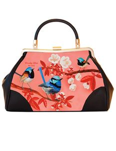 Woody Ellen 50s Vintage Style Miss Fairy Bird Handbag