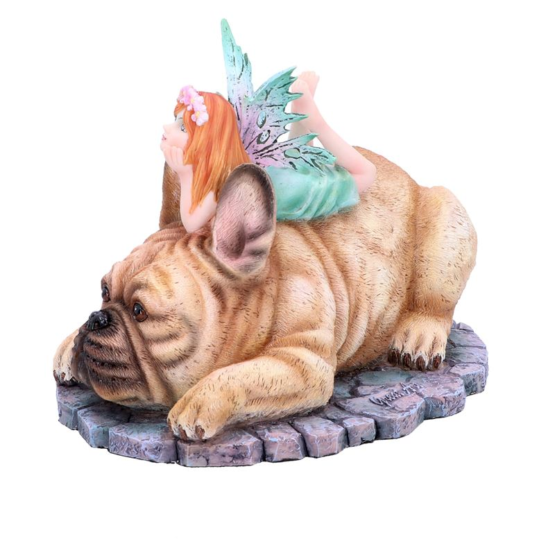 Nemesis Now Dog Canine Companion Fairy Bulldog Figurine