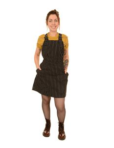 Run & Fly Pinstripe Pinafore