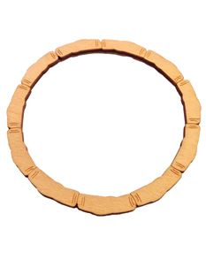 Laser Cut Wood Bamboo Bangle By Voodoo Betty