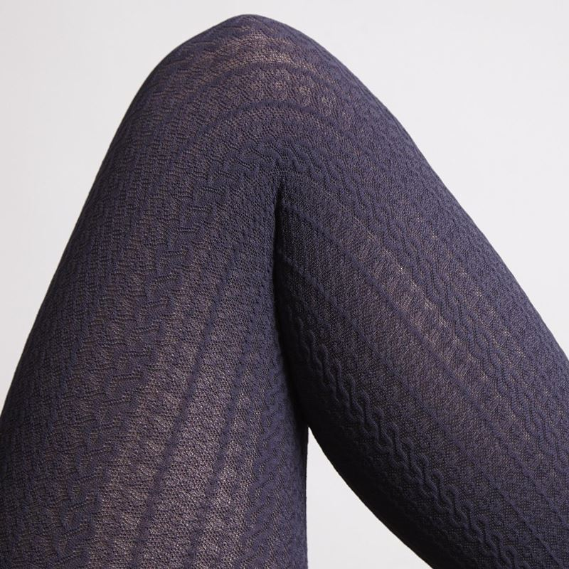Gypsy Cable Design Retro Style Tights