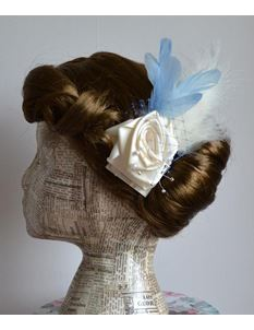 Doll's Mad Hattery Flapper Flo - Rose Hair Clip
