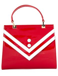 Banned Retro Serene Waters 50s Handbag Sailor Bag