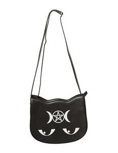 Banned Black Jinx Kitty Kat Bag