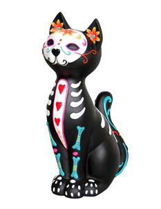 Nemesis Now Sugar Puss Day Of The Dead Cat Ornament