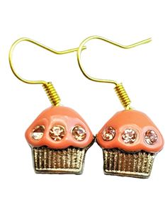 Shazazz Jewellery Orange Cup Cake Earrings