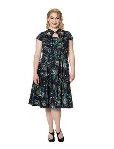 Banned Proud Peacock 1940s Style Dress