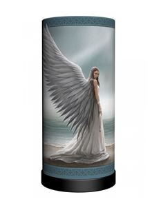 Nemesis Now Anne Stokes Spirit Guide Angel Table Lamp