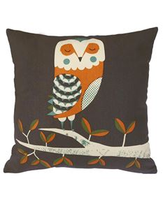 Magpie Wildlife Dusk Owl Cushion