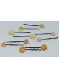 Said Lucy Flower Set Of 5 Clips