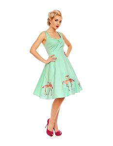 Dolly And Dotty Natalie Flamingo Story Dress