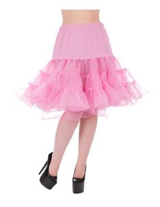 Hearts & Roses 25'' Petticoat In Pink