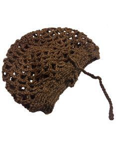 Silly Old Sea Dog Brown Crochet Snood