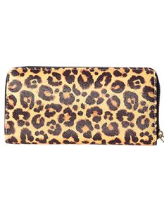 Banned Retro Wild At Heart Leopard 50s Wallet Purse