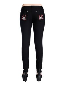 Black Swallow Skinny Jeans Banned Apparel