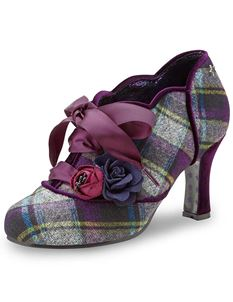 Joe Browns Yazzabelle Retro Tweed Shoe Boots