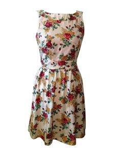 Primm Rose Clothing Rose Print Pencil Dress Size 14