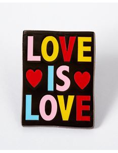 Punky Pins Love Is Love Enamel Pin
