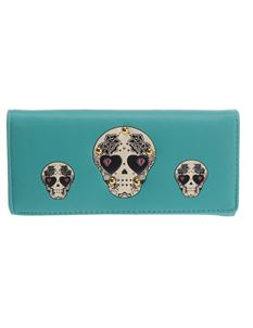 Poisoned Sugar Skull Generation Purse Wallet