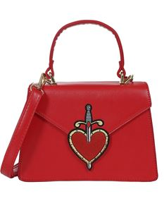 Collectif Lulu Hunn Regina Tattoo Red Heart 50s Bag