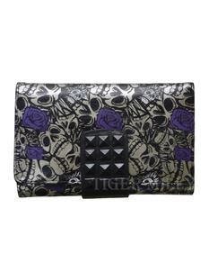 Iron Fist Muerte Medium Purse Wallet Charcoal