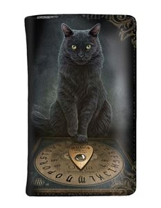 Nemesis Now His Masters Voice Cat Purse By Lisa Parker