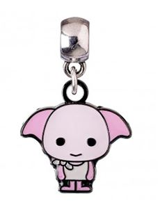 Harry Potter Dobby Chibi Silver Plated Charm