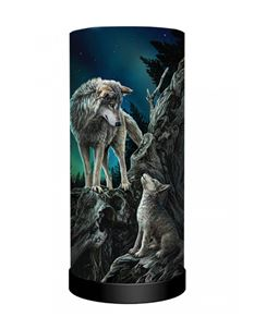 Nemesis Now Lisa Parker Guidance Wolf Table Lamp