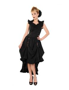 Banned Black Gothic Copper Victorian Dress