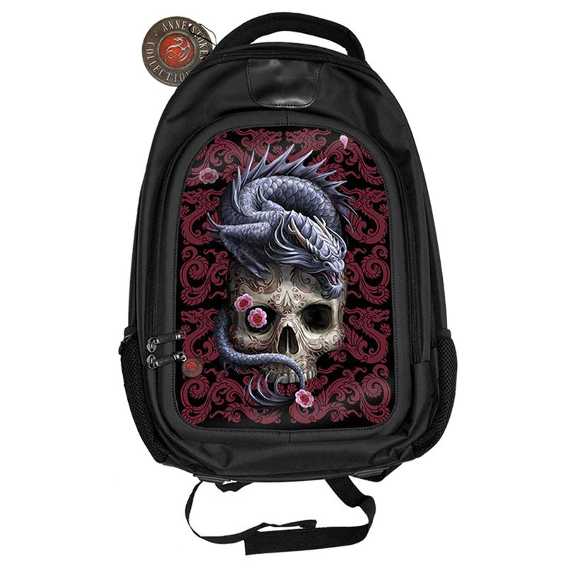 Anne Stokes 3D Dragon Skull Alternative Back Pack