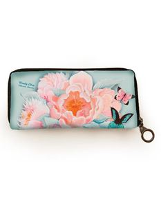Woody Ellen Idda Floral Card Wallet Purse