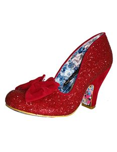 Irregular Choice Nick Of Time High Heel Shoe Red