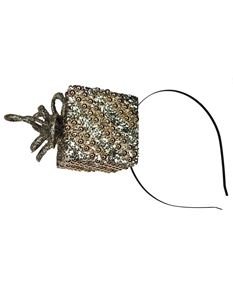 Silly Old Sea Dog Glitter Christmas Present Headband
