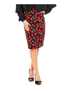 Dolly & Dotty Falda Vintage Style Pencil Skirt UK 14
