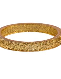 Splendette Gold Glitter Bangle