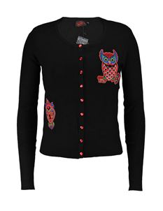 Banned Apparel Soft Owl Cardigan