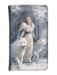 Nemesis Now Winter Guardians Wolf Purse By Anne Stokes