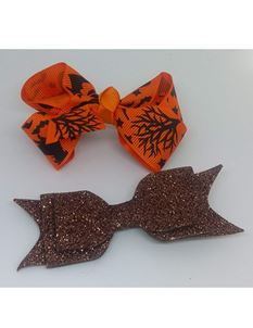 Said Lucy Halloween And Glitter Bow